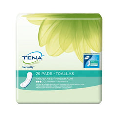 Bladder Control Pad, TENA Serenity 11 Inch, Moderate Absorbency | TENA #41300