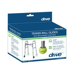 Tennis Ball Glides with Replaceable Glide Pads | Drive Medical