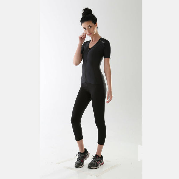 Women's Zipper Compression Shirt AlignSport | AlignMed