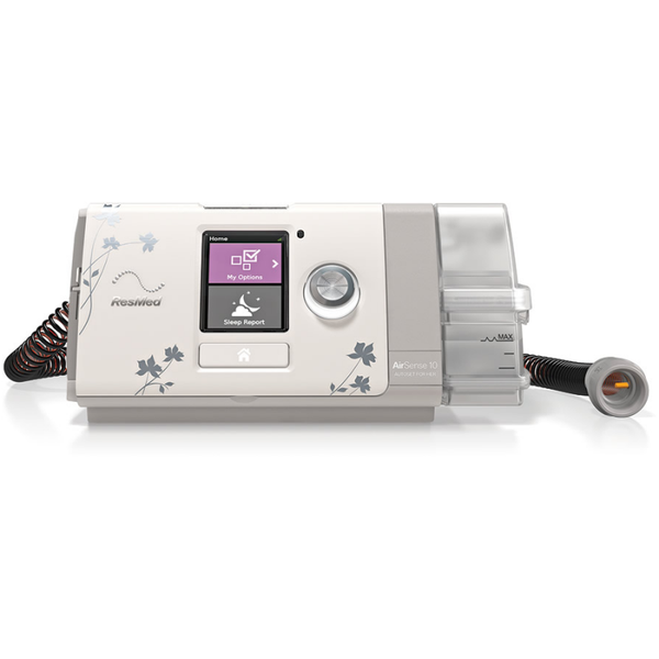 CPAP for Her AirSense 10 AutoSet Heated Humitifier, ClimateLineAir Tubing | ResMed - PRO2 Medical Equipment Lubbock