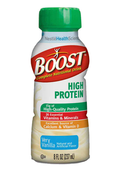 Boost High Protein 8 oz. Bottle | Nestle Nutrition #12187364 - PRO2 Medical Equipment Lubbock