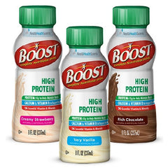 Boost High Protein 8 oz. Bottle Ready to Use | Nestle Nutrition