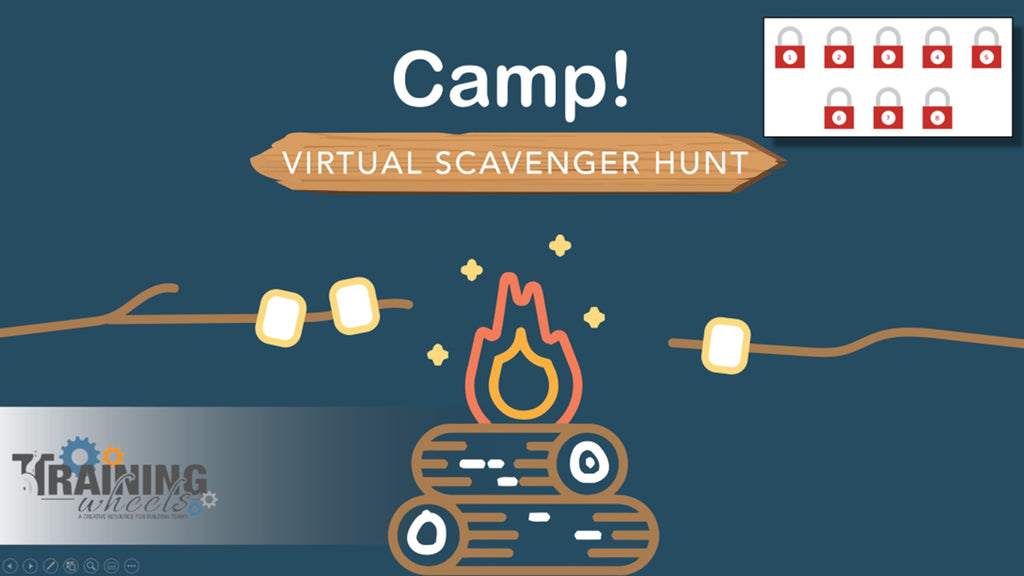 Camp Themed Virtual Scavenger Hunt