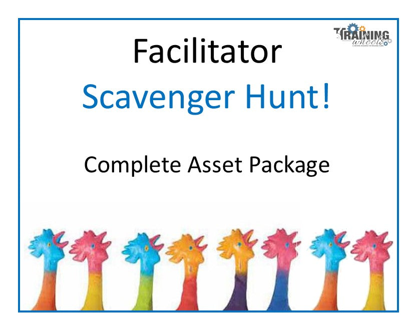 Facilitator Virtual Scavenger Hunt