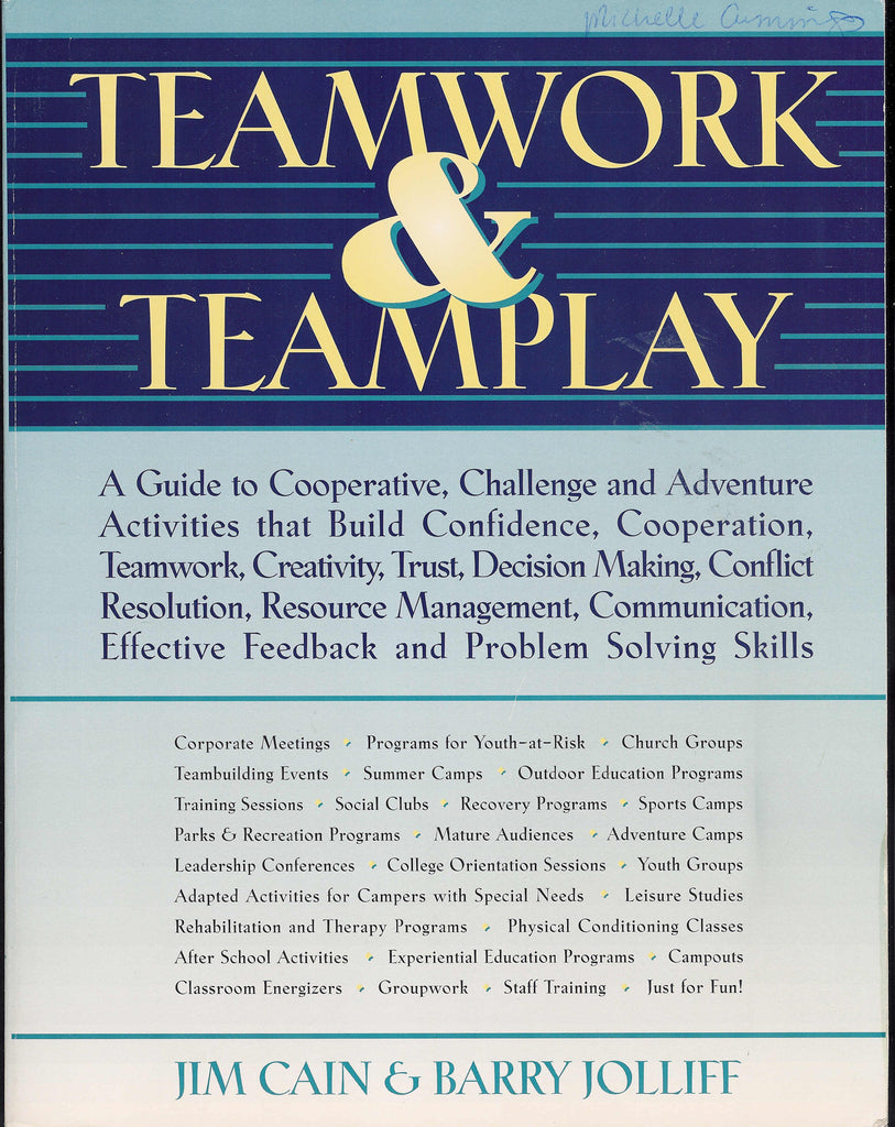 Teamwork & Teamplay Book