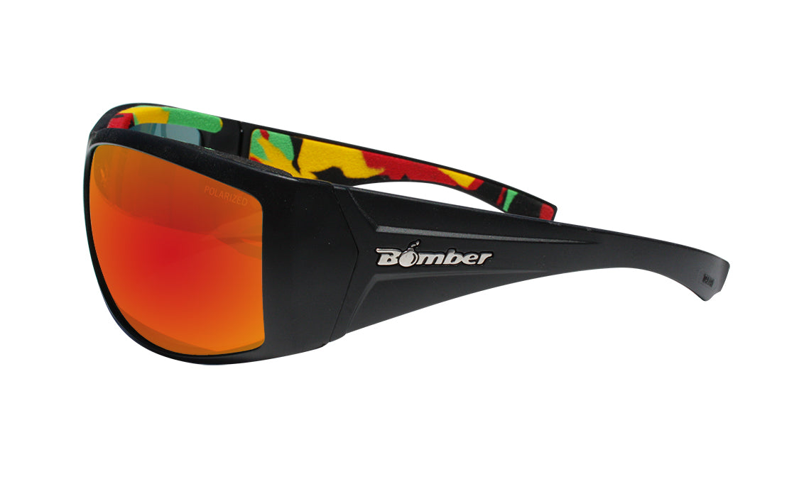 AHI - Polarized Red Mirror Rasta