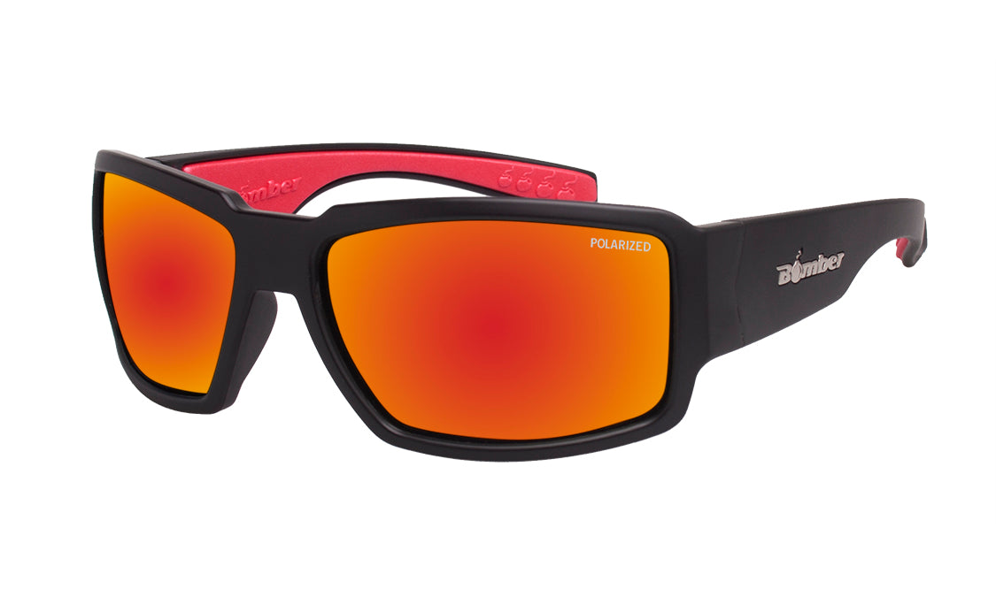 BOOGIE - Polarized Red Mirror Red Foam