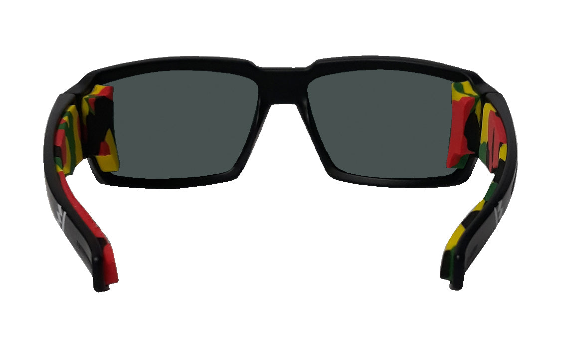 BOOGIE Safety - Polarized Red Mirror Mana Series