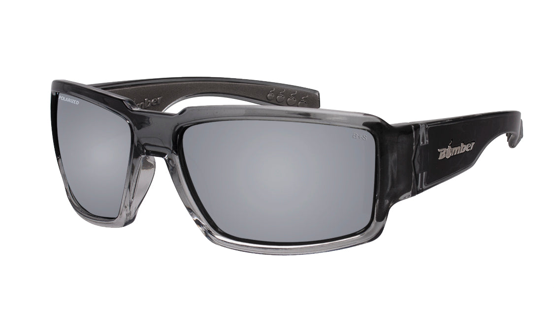 BOOGIE Safety - Polarized Silver Mirror Crystal