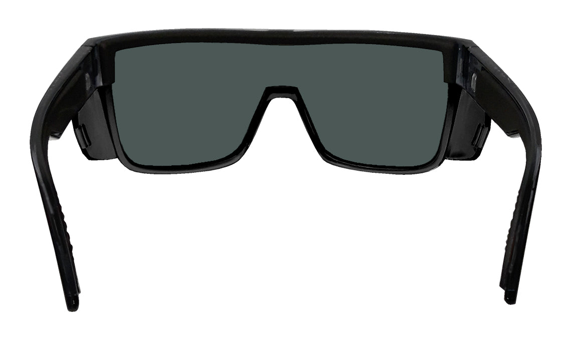 BUZZ Safety - Polarized Blue Mirror