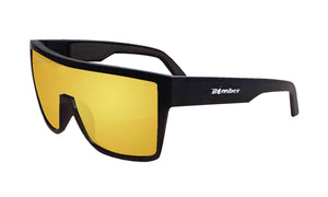 BUZZ Safety - Polarized Gold Mirror