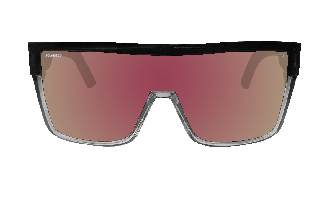 BUZZ Safety - Polarized Rose Gold Mirror Crystal