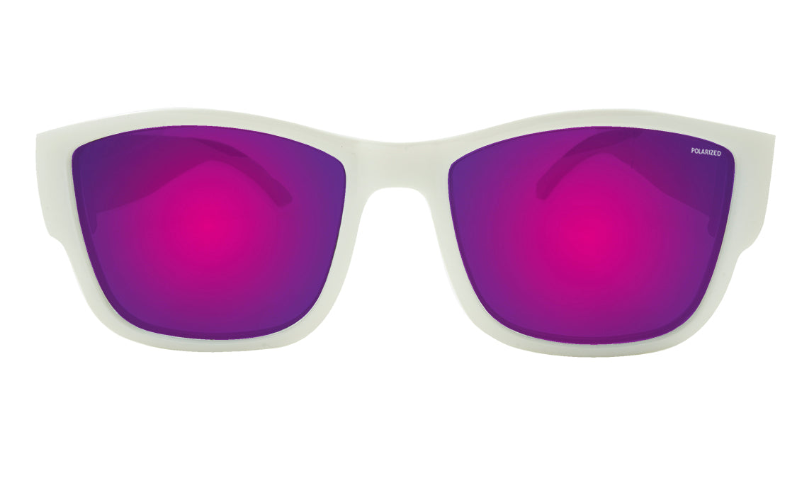 GOMER - Polarized Pink Mirror White