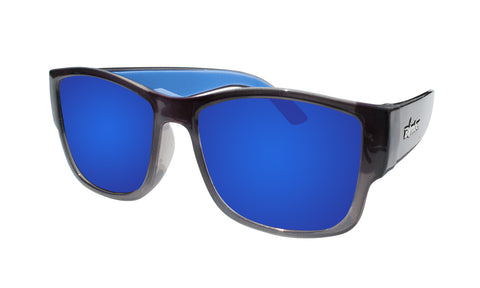 GOMER - Polarized Blue Mirror Crystal
