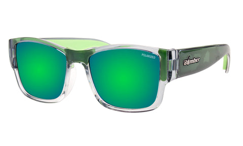 GOMER - Polarized Green Mirror Crystal Green Foam