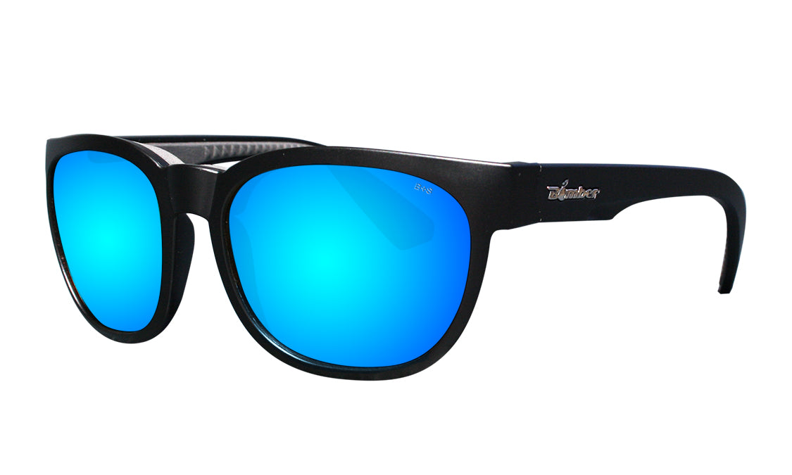 GROM - Polarized Ice Blue Mirror Blk