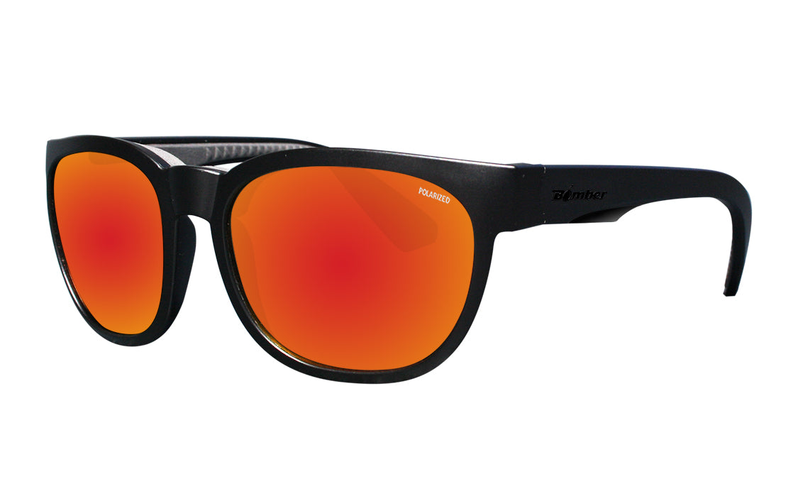 GROM - Polarized Red Mirror Blk