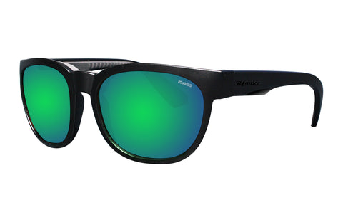 GROM - Polarized Green Mirror Blk
