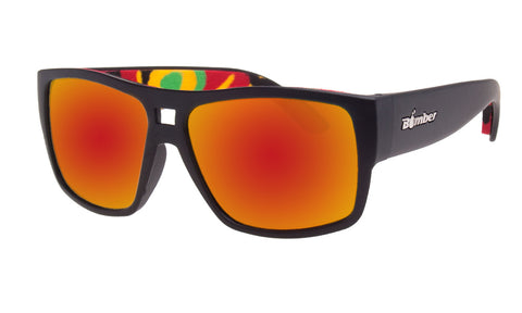 IRIE - Red Mirror PC Rasta Black