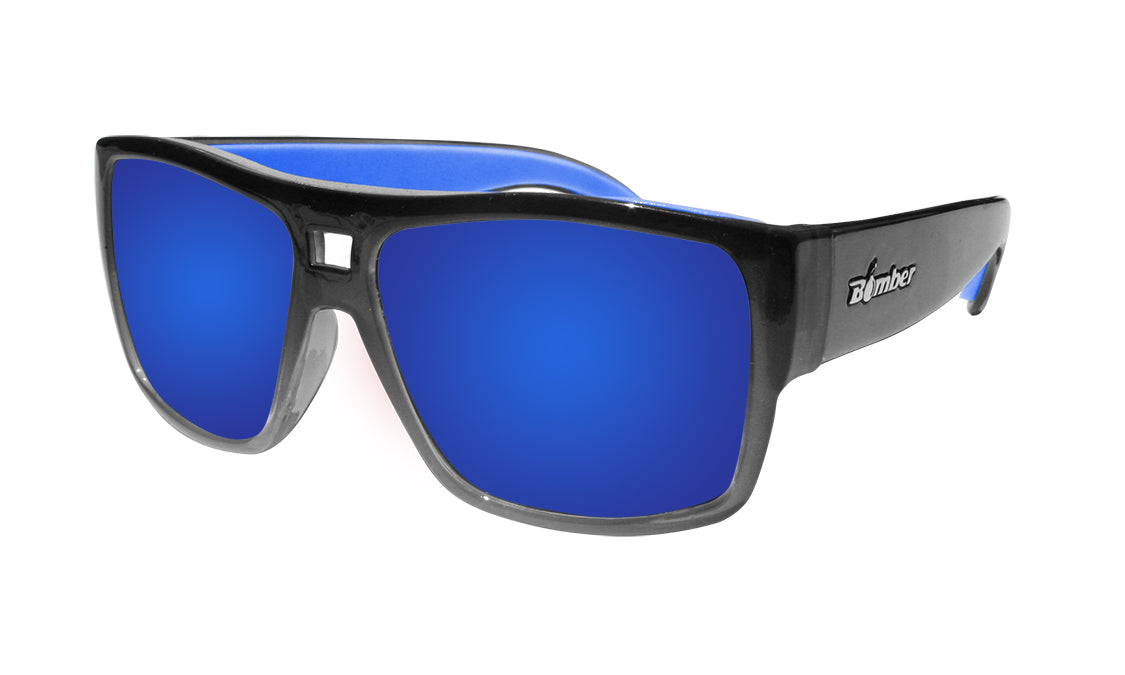 IRIE - Polarized Blue Mirror Crystal