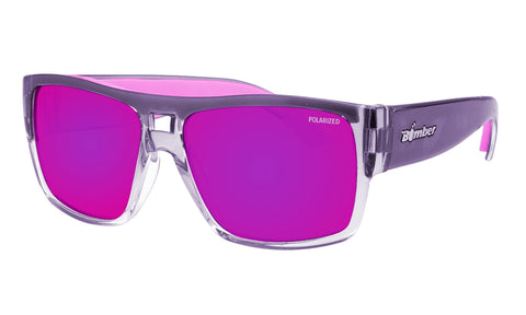 IRIE - Polarized Pink Mirror Crystal