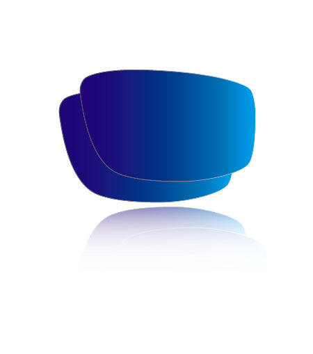 Blue Mirror Non-Polarized Safety - Lens Replacements