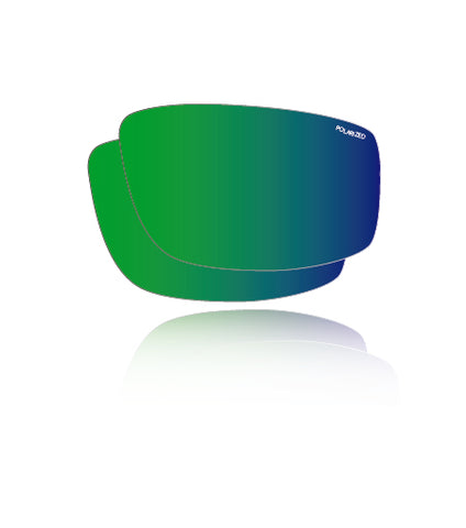 Polarized Green Mirror - Lens Replacements