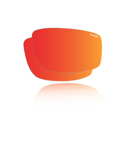 Polarized Red Mirror Safety - Lens Replacements