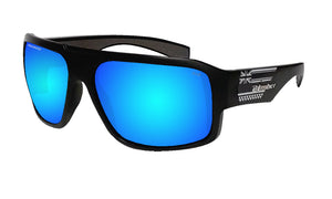 MEGA Safety - Polarized Ice Blue Mirror Aloha series