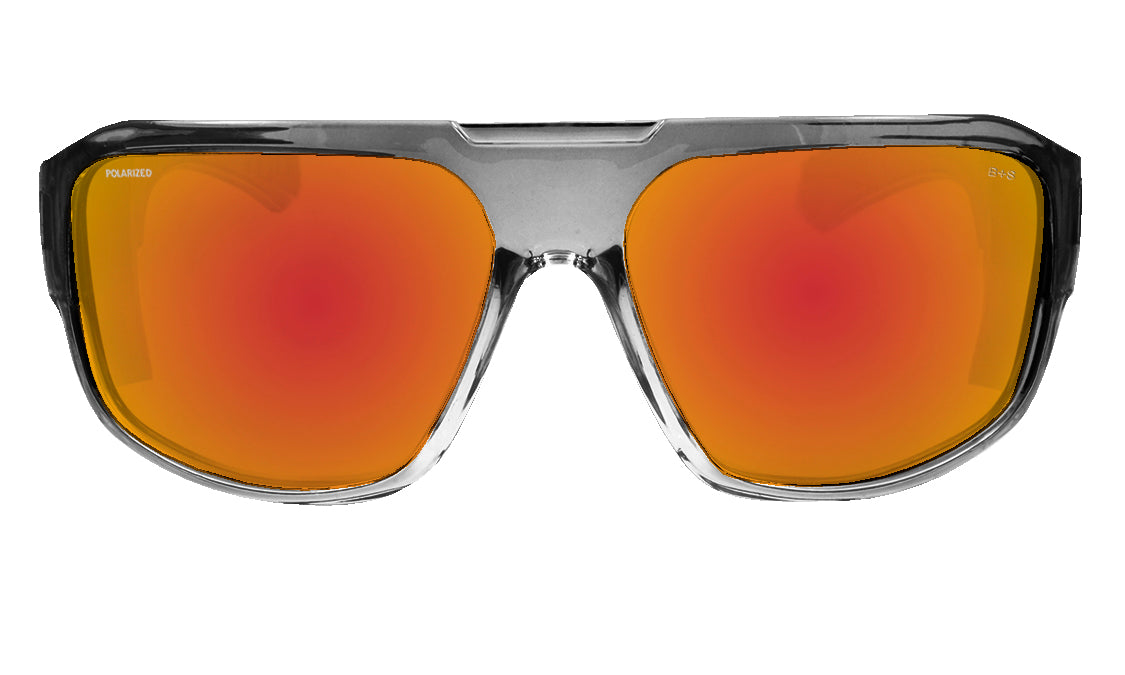 MEGA Safety - Polarized Red Mirror Crystal
