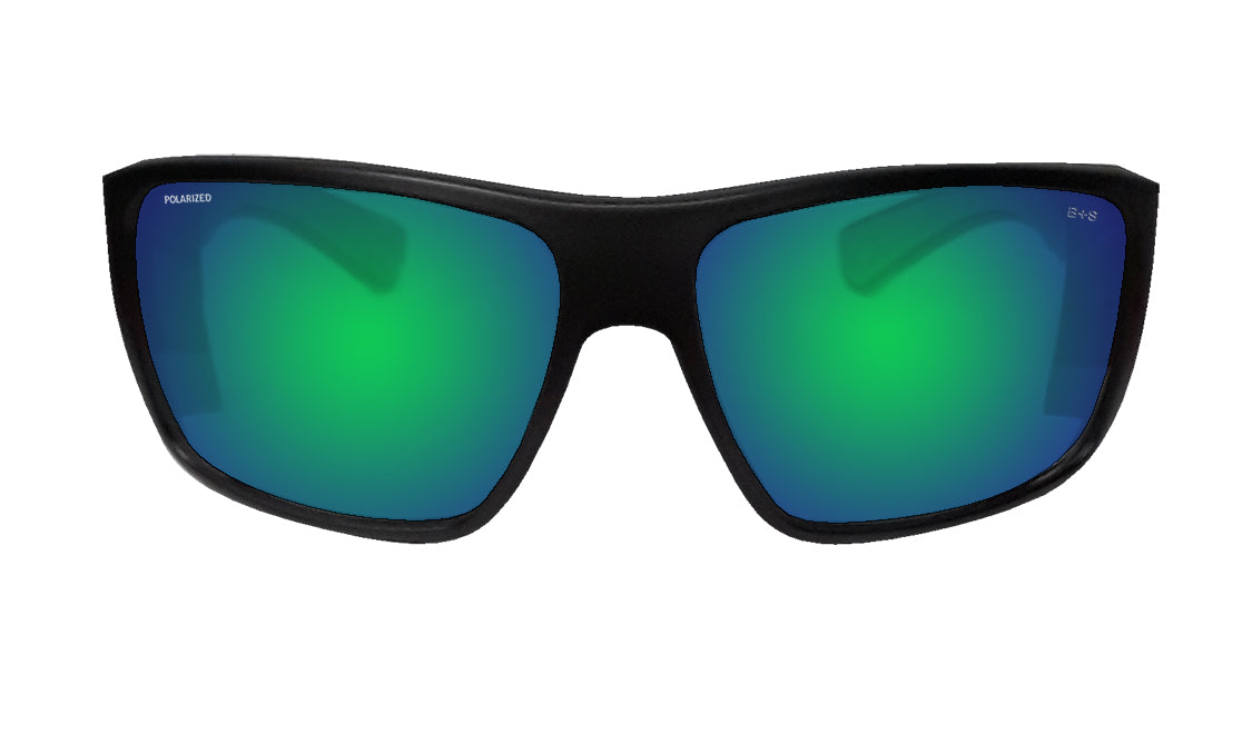 MANA Safety - Polarized Green Mirror Green Foam