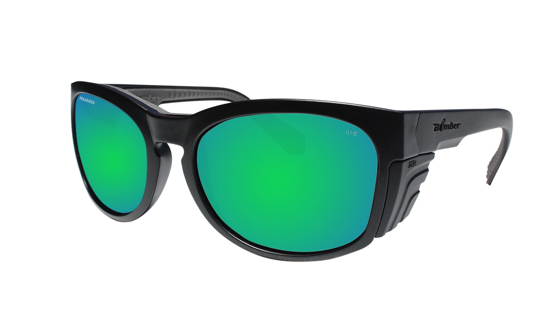 RAW Safety - Polarized Green Mirror
