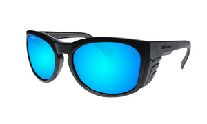 RAW Safety - Polarized Ice Blue Mirror