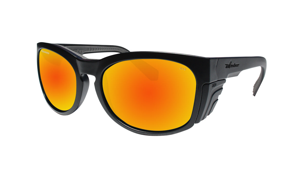 RAW Safety - Polarized Red Mirror