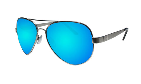 STRANGE - Polarized Ice Blue Mirror Silver
