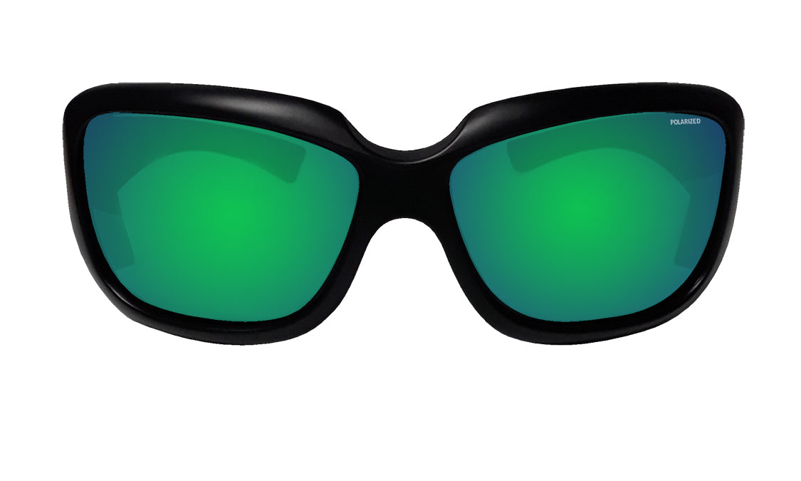 SUGAR - Polarized Green Mirror Black