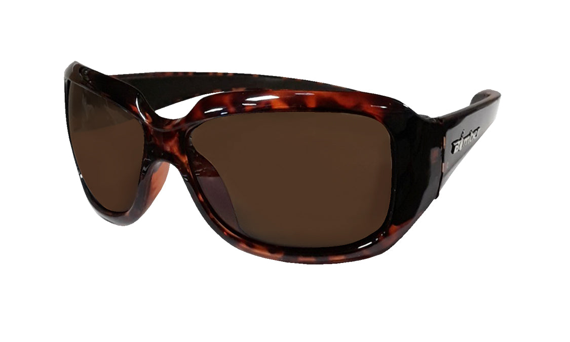 2fafc49325b TORTOISE FRAME FLOATING SUNGLASSES WITH BROWN POLARIZED LENS