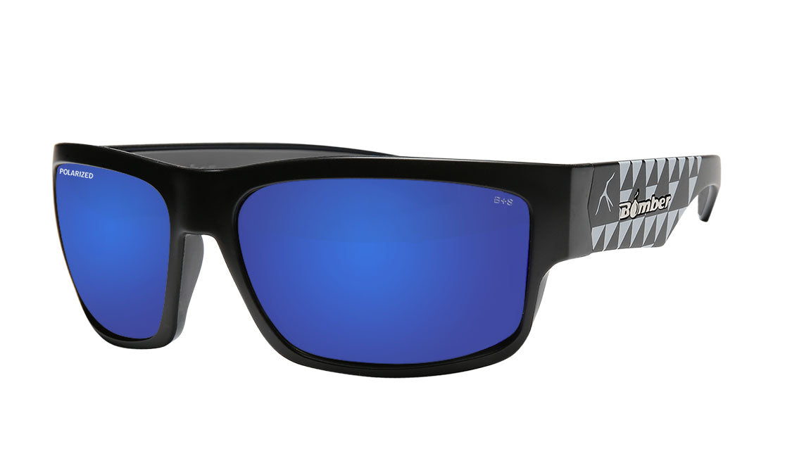 TIGER Safety - Polarized Blue Mirror Mana Series
