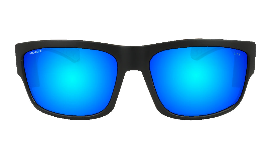 TIGER Safety - Polarized Ice Blue Mirror