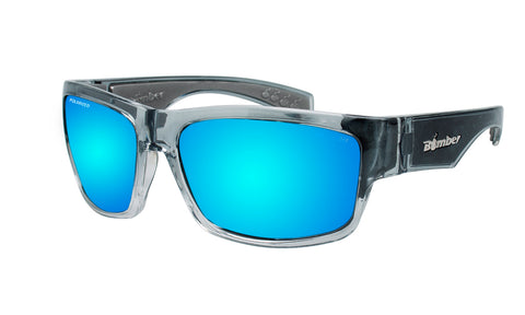 TIGER - Polarized Ice Blue Mirror Crystal