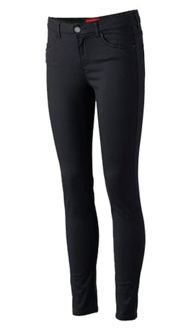 Girls Skinny Pants School Uniform Black