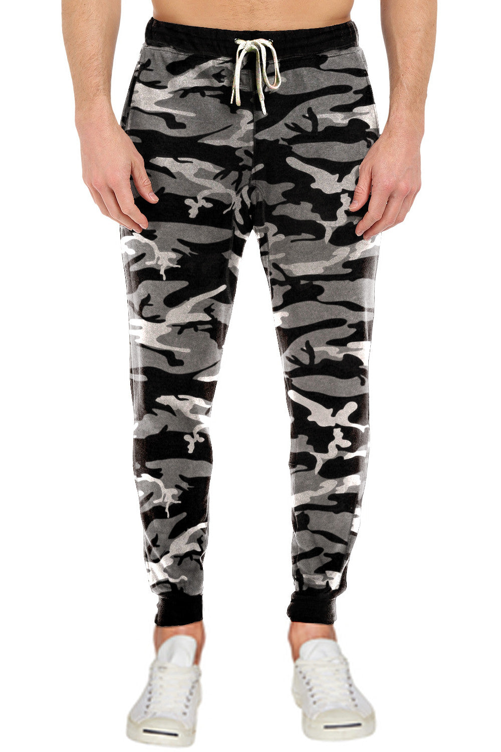 French Terry Fleece Pants Sweatpants Joggers Camo Camoflauge Military