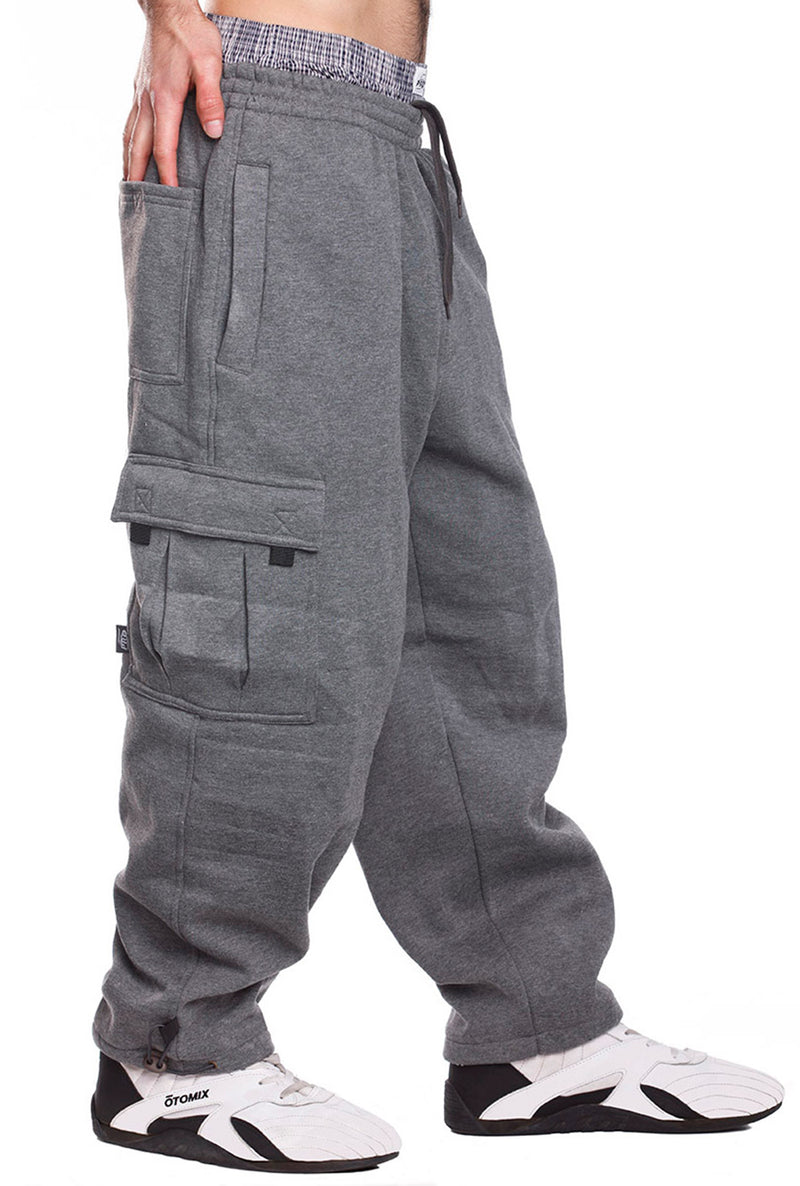 Fleece Cargo Pants 2XL - 5XL - Pro 5 Apparel