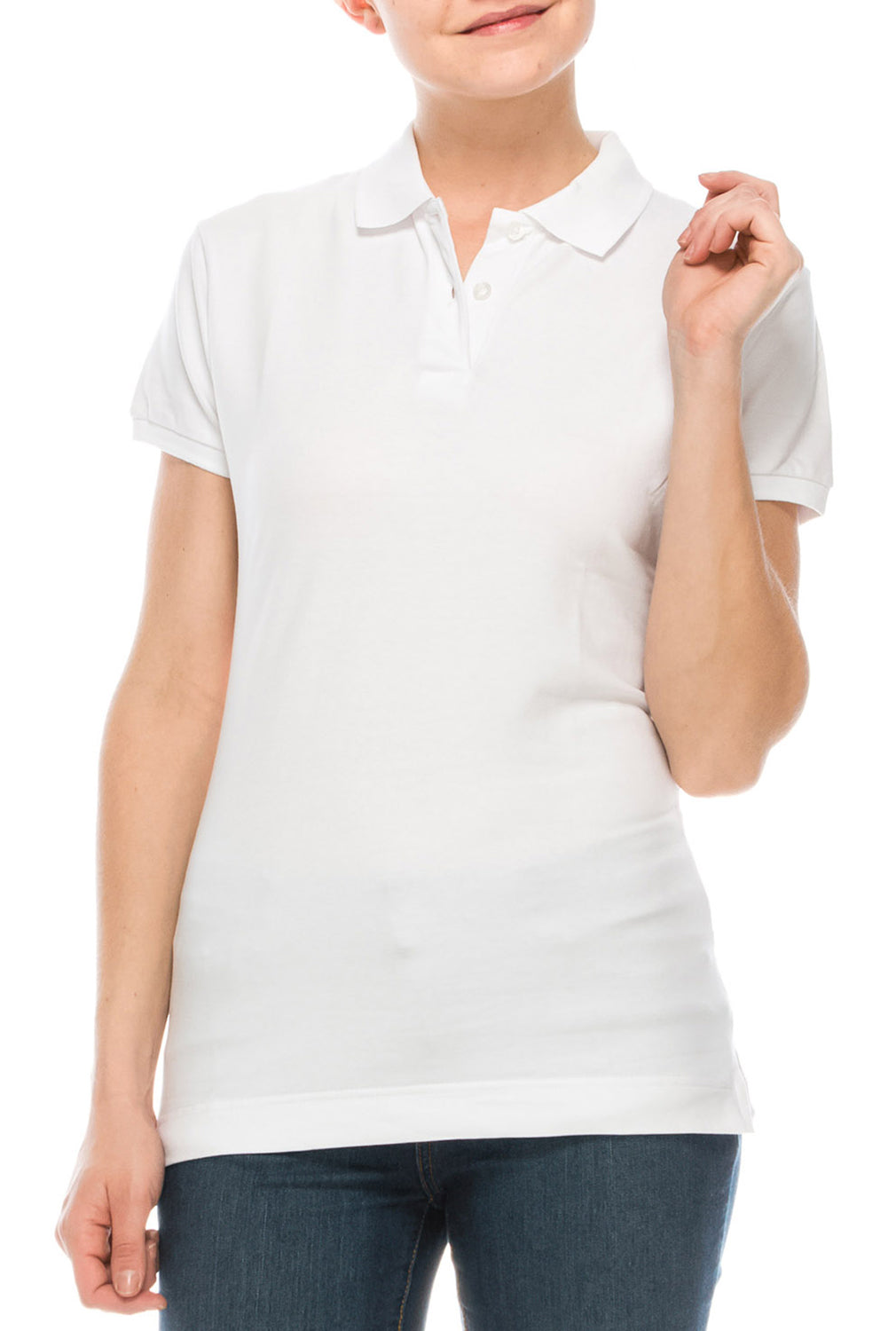 Girls Polo (Junior)-93J - Pro 5 Apparel