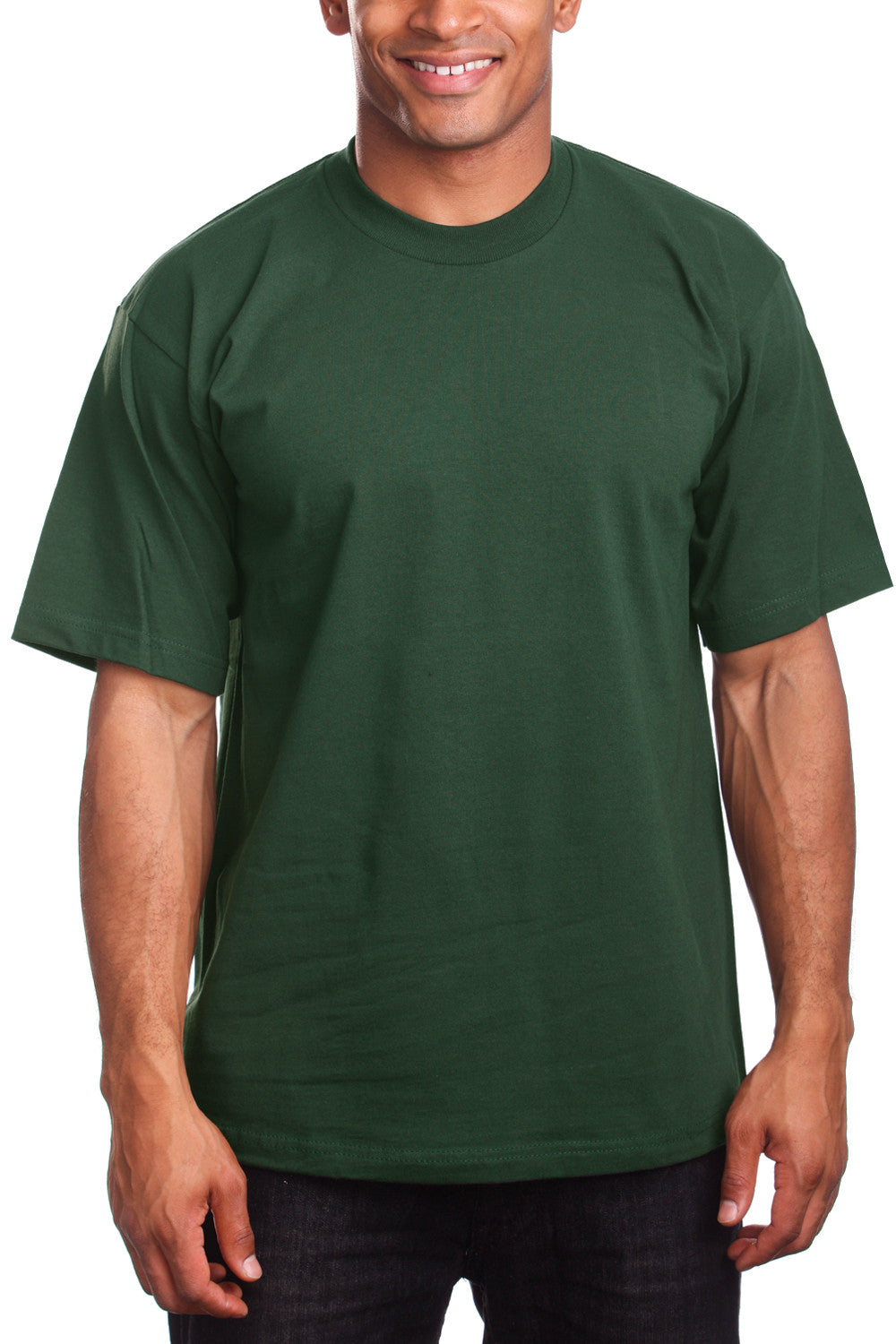 Athletic Fit Dark Green T-Shirts Activewear Tee Shirts
