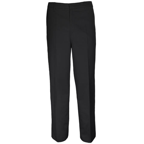 Boys Regular Fit Pants School Uniform Black