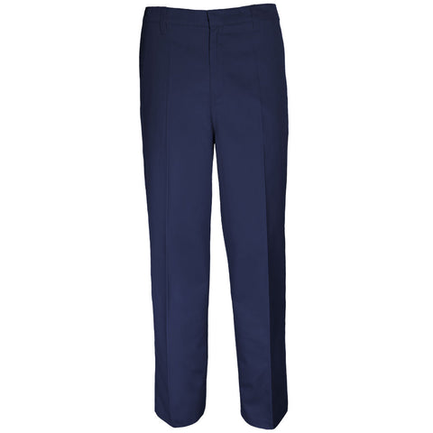 Boys Slim Fit Pants School Uniform Navy