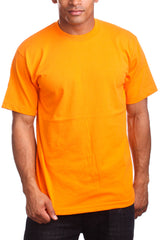 Athletic Fit Orange T-Shirts Activewear Tee Shirts