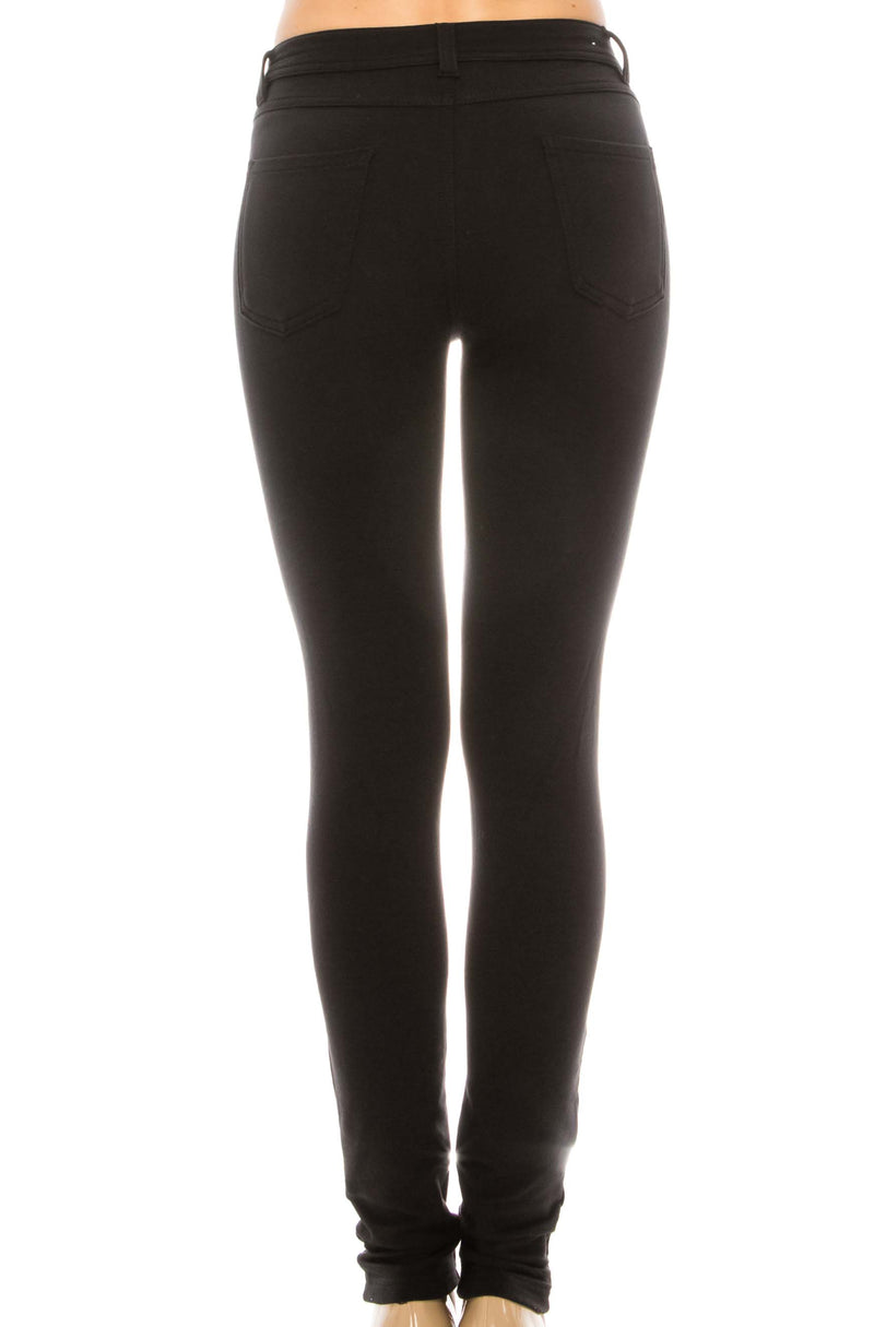 Girls Skinny Terry Pants P87 - Pro 5 Apparel