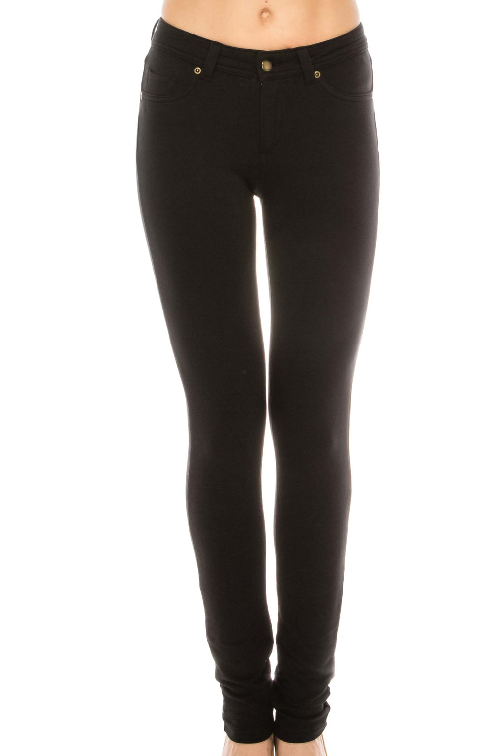 Girls Skinny Terry Pants-P87 - Pro 5 Apparel